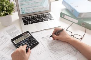 filing taxes for a writer