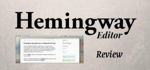 Hemmingway editor