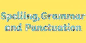 Spelling & Punctuation