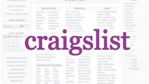using craigslist